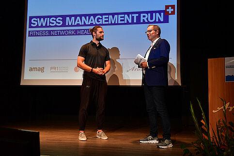 Swiss Management Run in den Bergen
