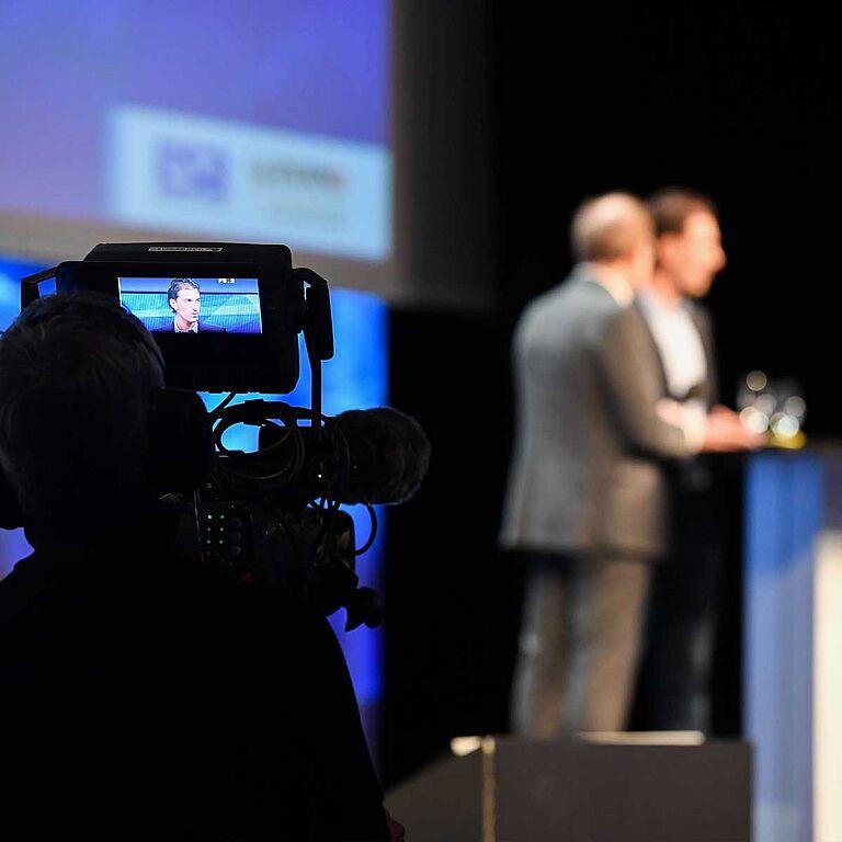 ESB Kongress wird gefilmt